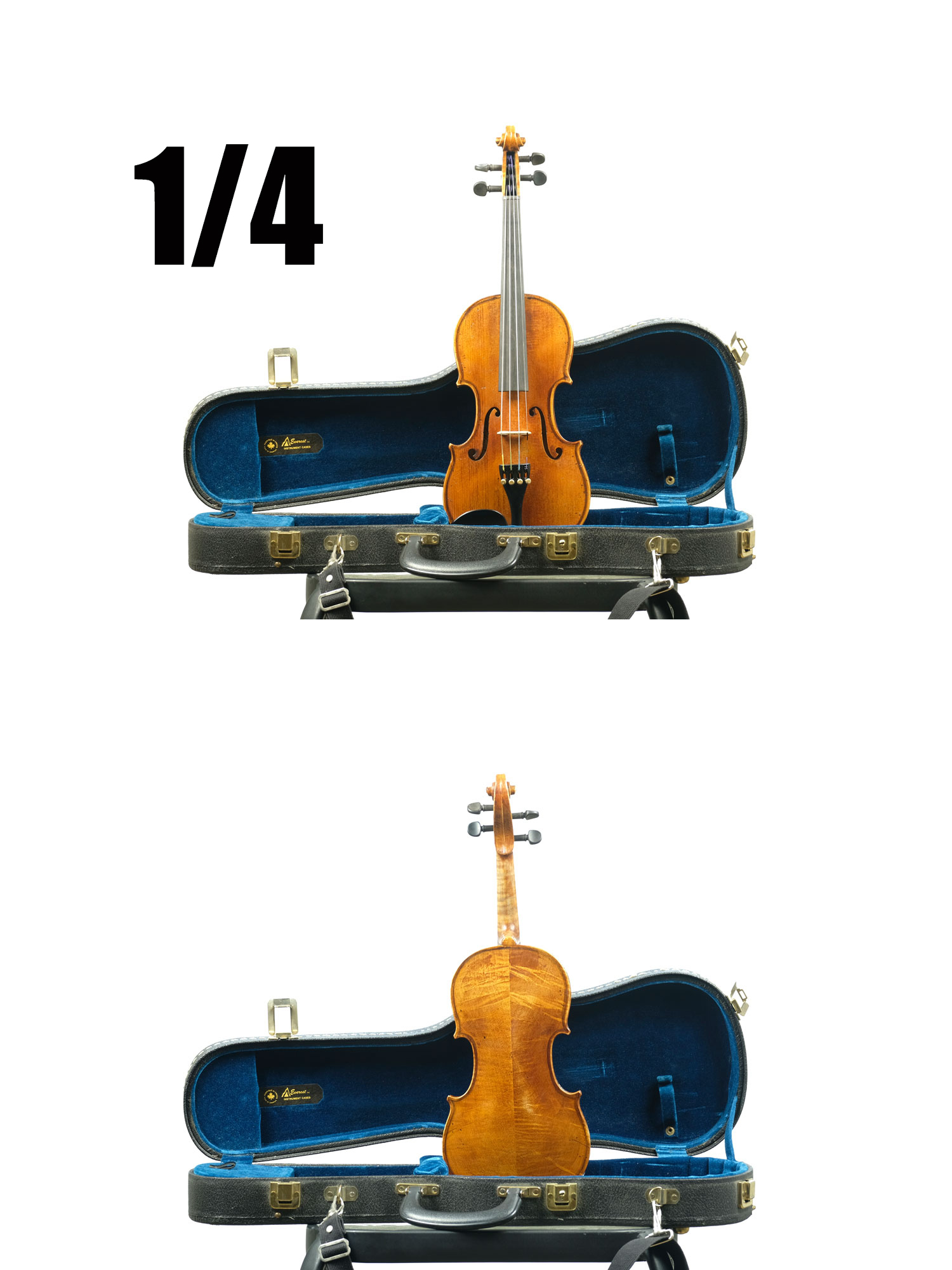 1/4 Johann Wenger violin 1990