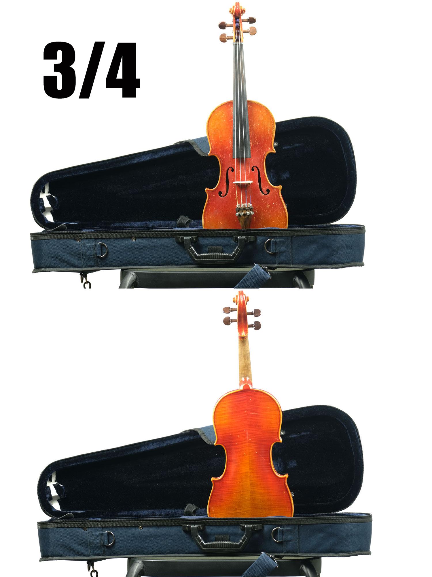 ¾ size violin Copy of Nicholaus Amatus