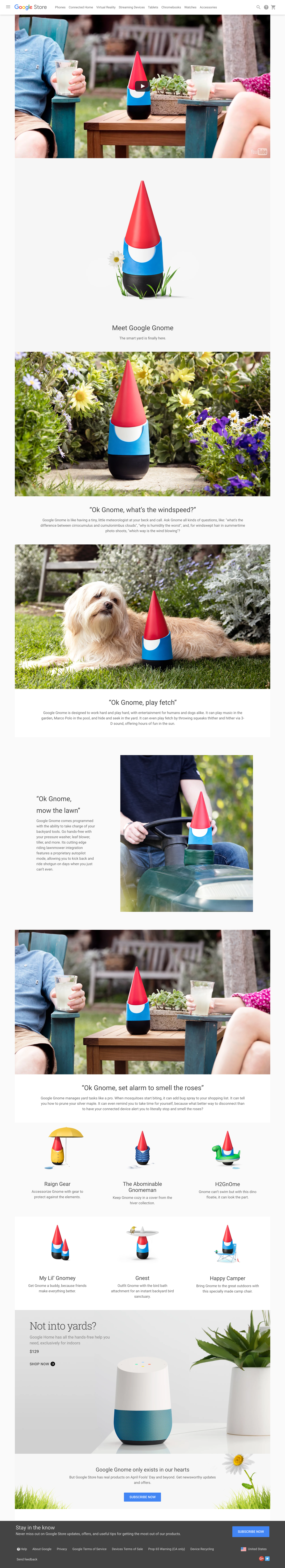 Google Gnome — Greg Calvert