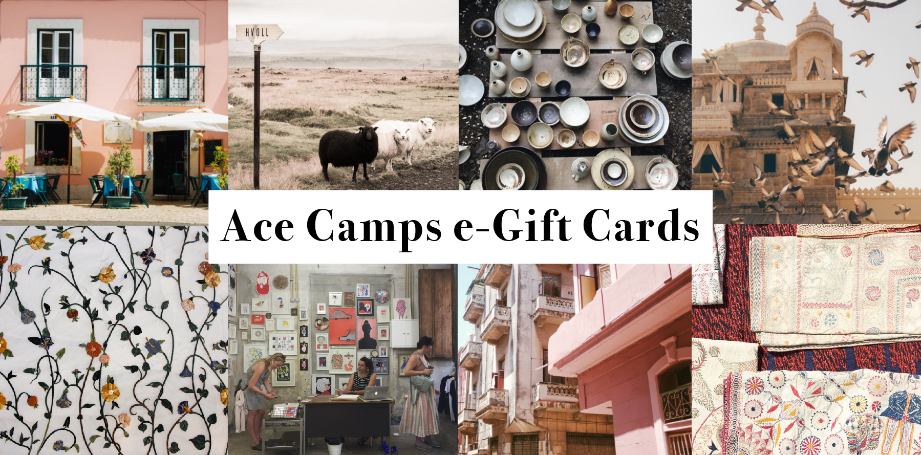 ACE CAMPS GIFT CARDS