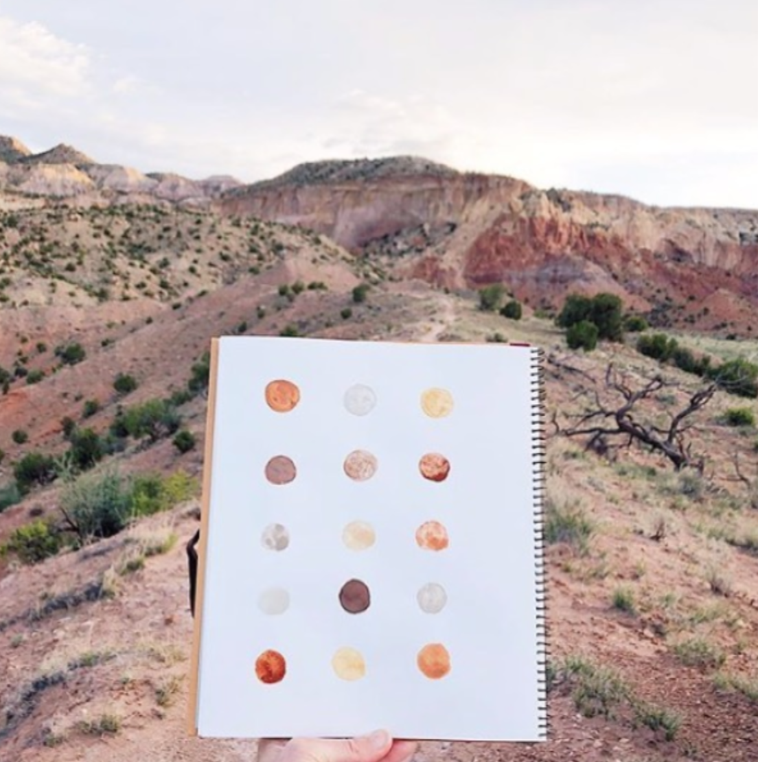 PAINTING + PIGMENT WITH STELLA MARIA BAER - WATERCOLOUR PAINTING + PIGMENT MAKING WORKSHOP GHOST RANCH, NEW MEXICOMAY 2020
