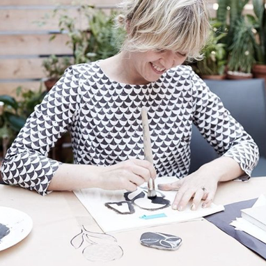 LISBON, PORTUGAL - PATTERN PRINTING + PAINTING TILES WITH LOTTA JANSDOTTER JUNE 17 - 22, 2019SOLD OUT