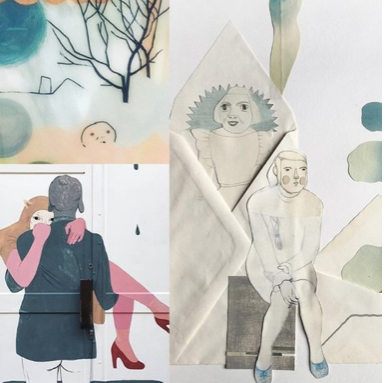 GOTEBOURG, SWEDEN - ILLUSTRATION, ART + COLLAGE WITH CAMILLA ENGMAN - MAY 2019