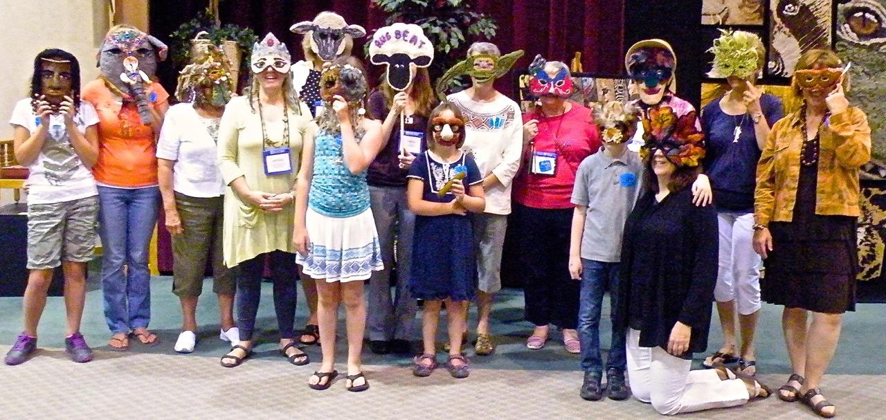 Mask Challenge 2012, Sauder Village Rug Exhibit