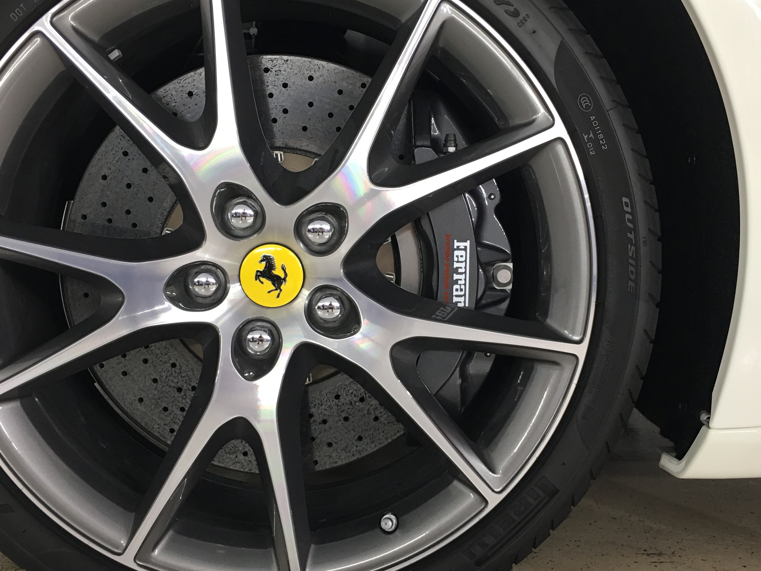 Ceramic Pro Wheel & Caliper applied to all 4 wheel faces. This prevents brake dust build-up, and makes for easy cleaning!