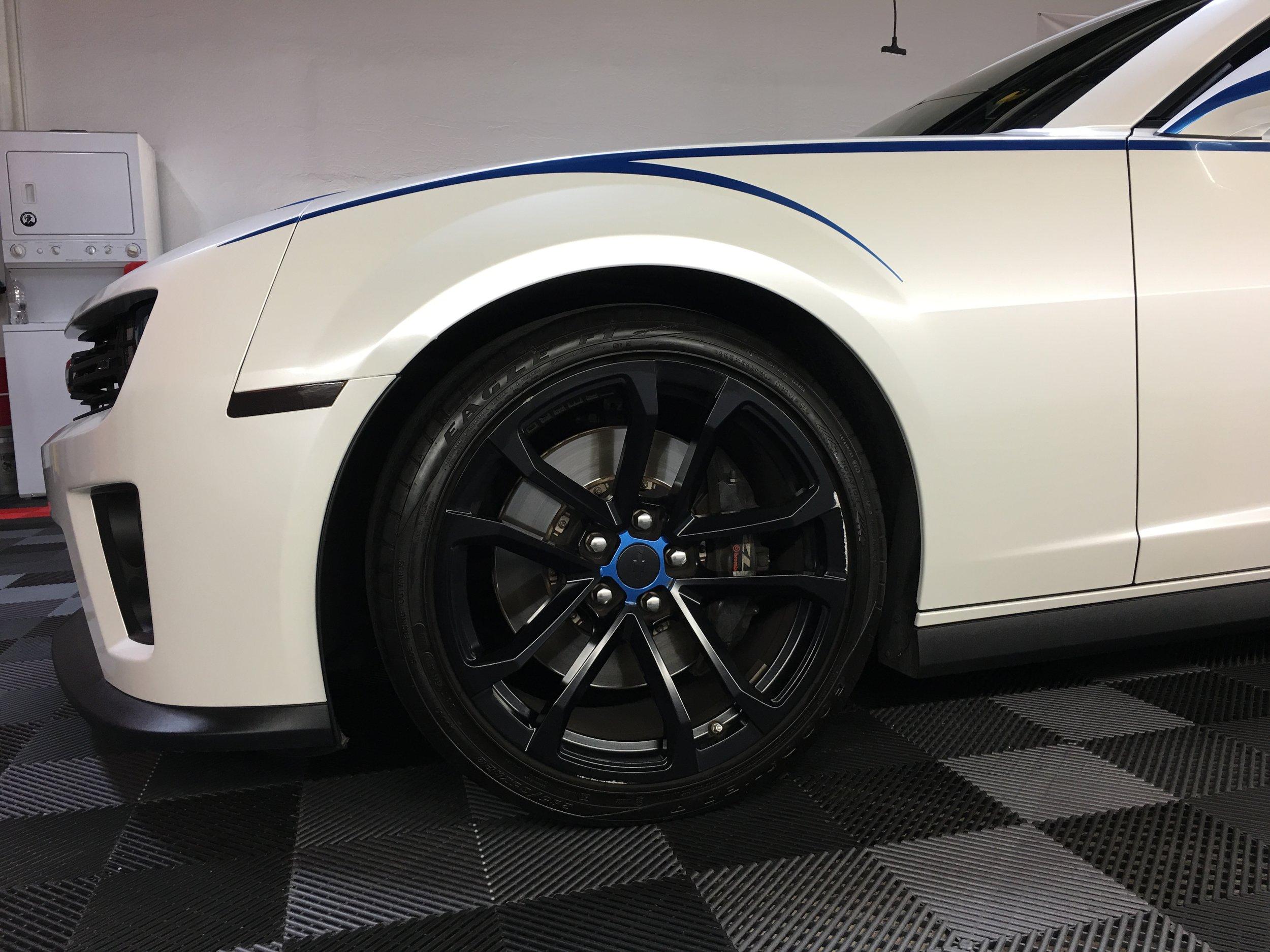 camaro black wheels az