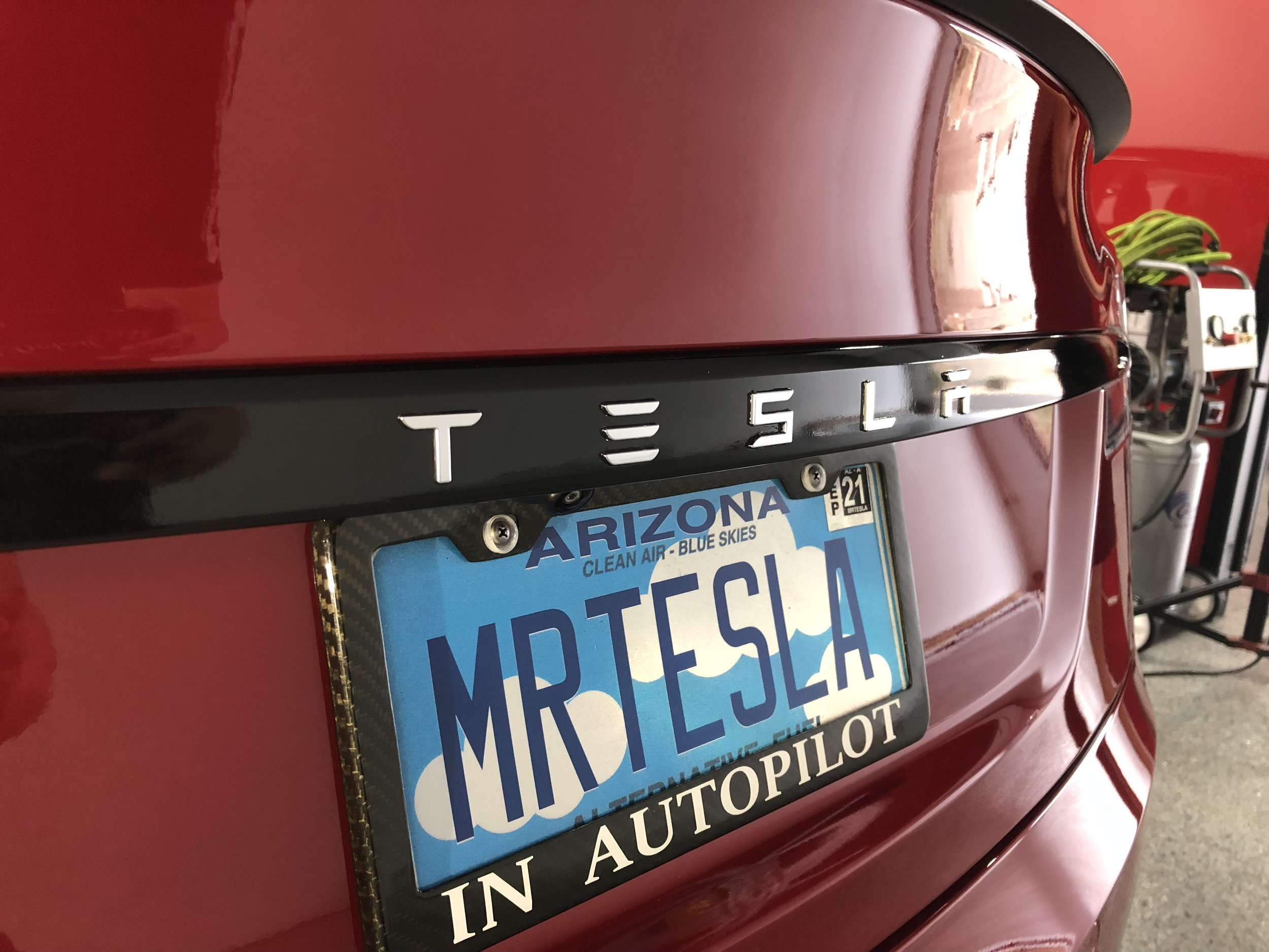 Chrome delete on Arizona's nicest Tesla P100D — Detail BOSS