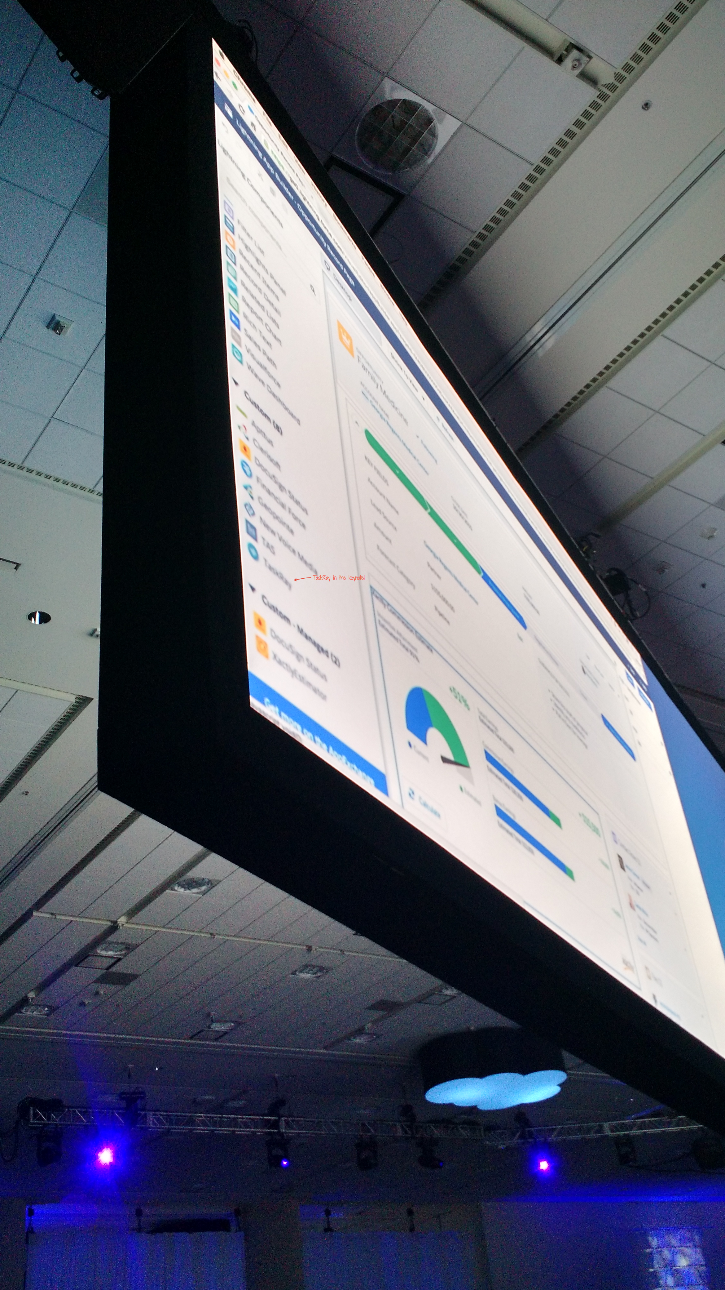 TaskRay made an on-screen appearance in the main keynote!