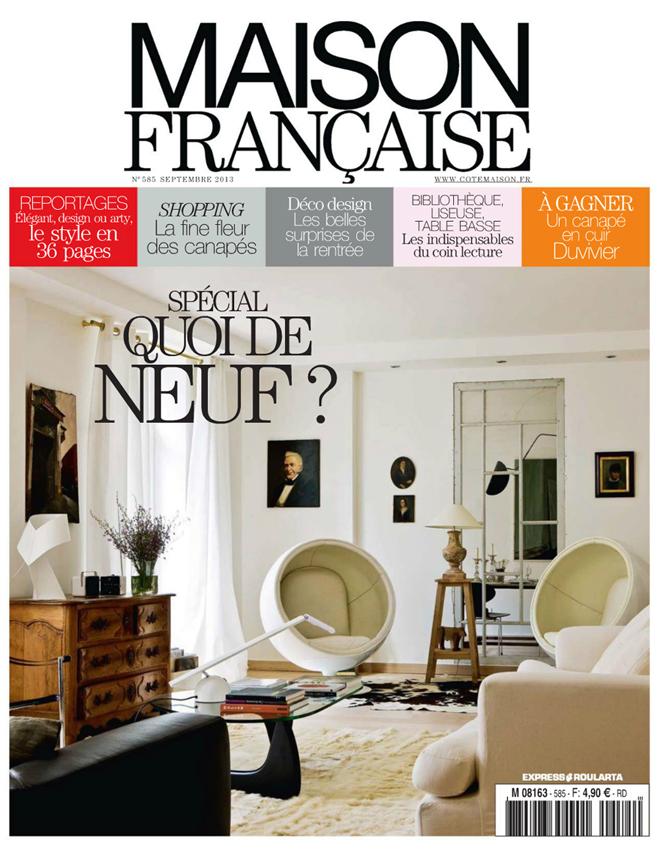 Maison Francaise septembre 2013