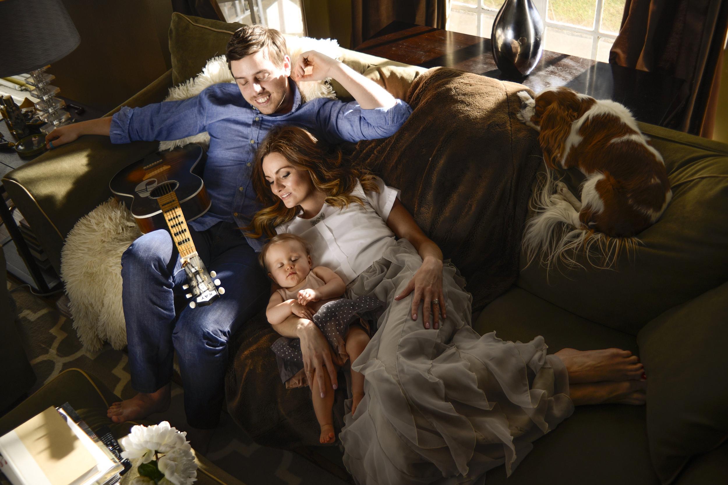 SHANNON & FAMILY   (HUSBAND JON, DAUGHTER SLOANE, & DOG JUNE CARTER)