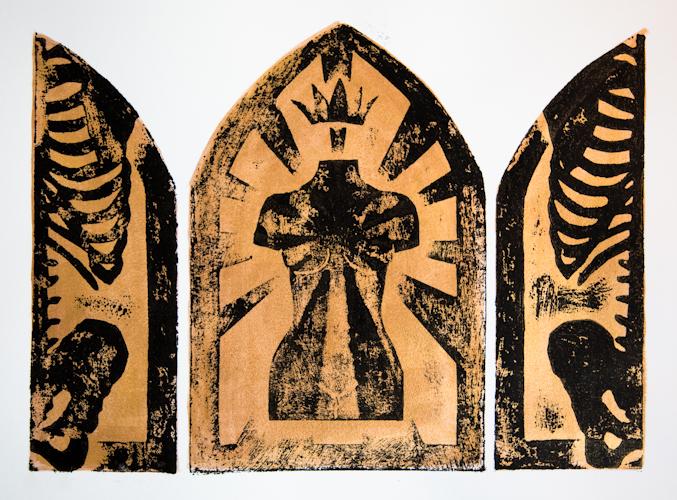 The Theotokos Triptych II