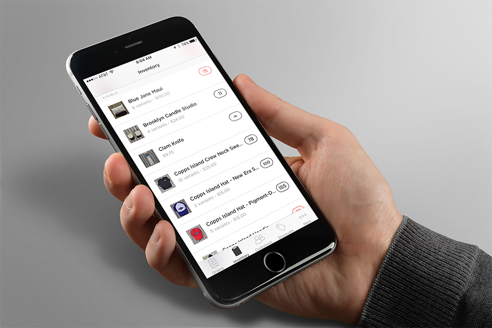 """The Squarespace """"Commerce"""" app enables Copps Island to easily manage orders and fulfillments and other tasks."""