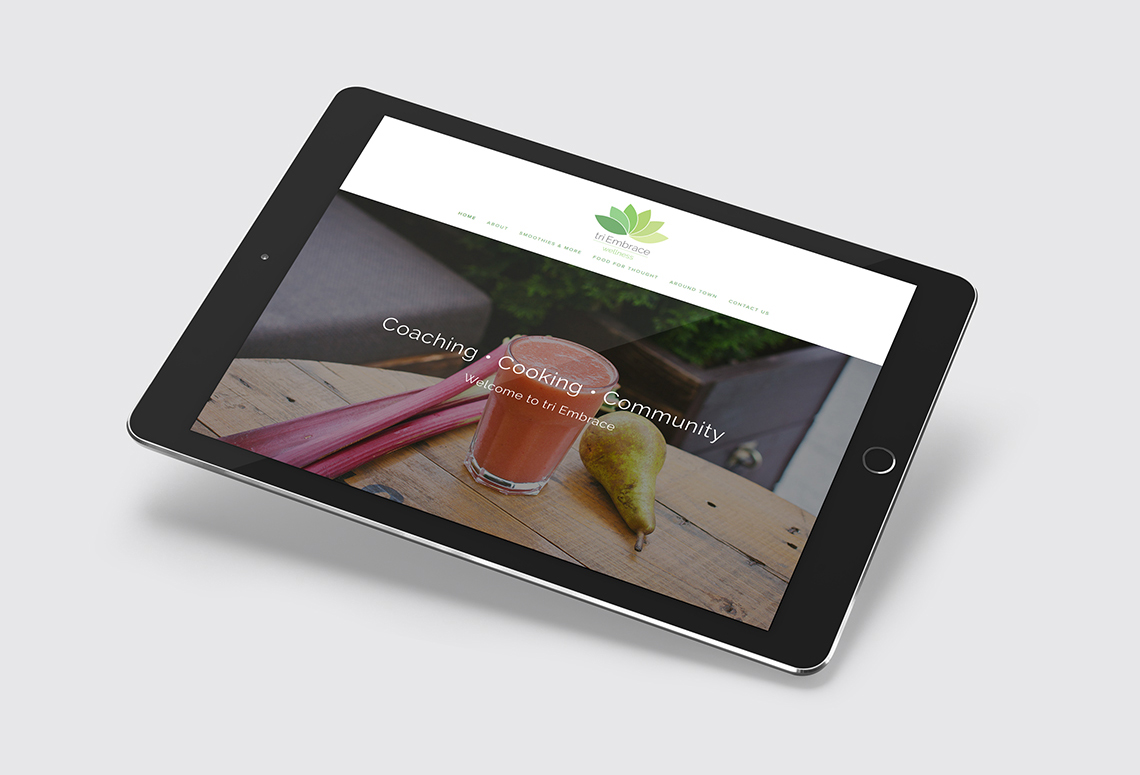 OUR SQUARESPACE WEBSITE DESIGN FOR TRI EMBRACE OF FAIRFIELD CT