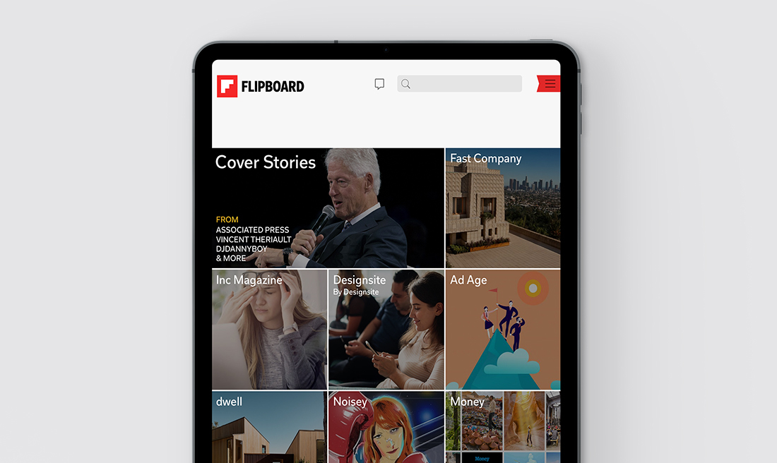 LEVEL THE PLAYING FIELD: OUR DESIGNSITE FLIPBOARD MAGAZINE SITS AMONG MAJOR PUBLISHERS