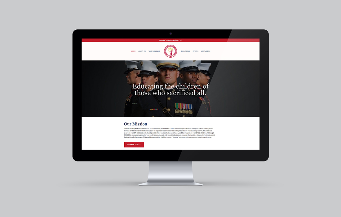 MAIN AND NATIONAL CHAPTER WEBSITES AND DIGITAL MARKETING FOR MC-LEF