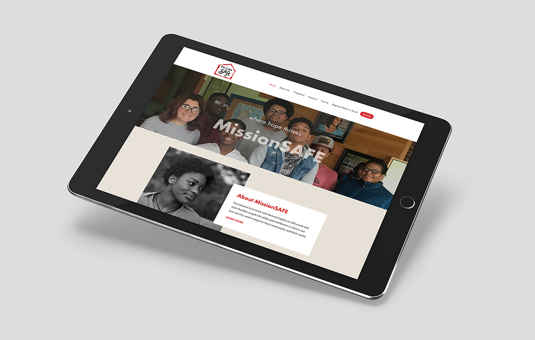 WEBSITE DESIGN FOR MISSIONSAFE