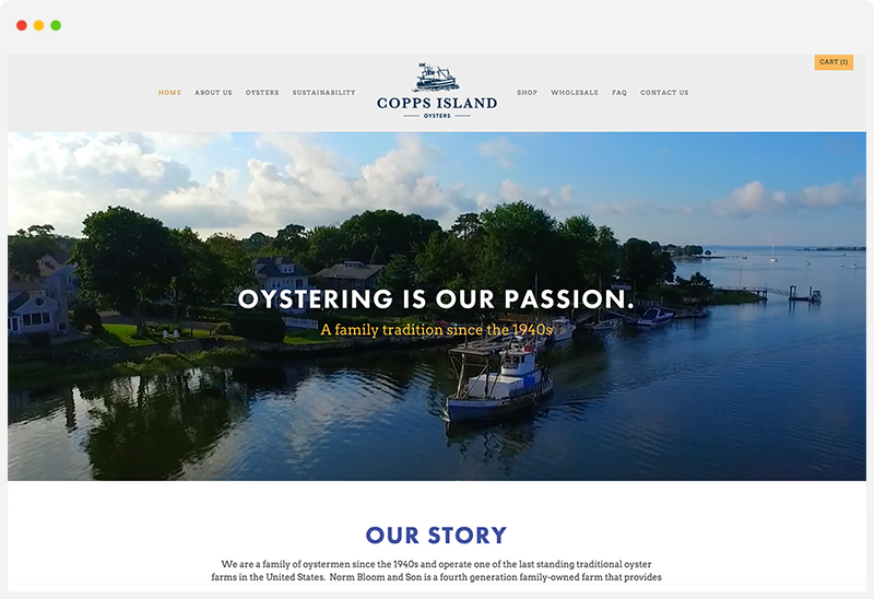 Copps Island Oysters -