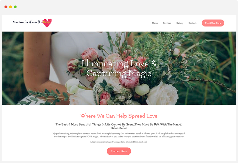 Ceremonies from the Heart -