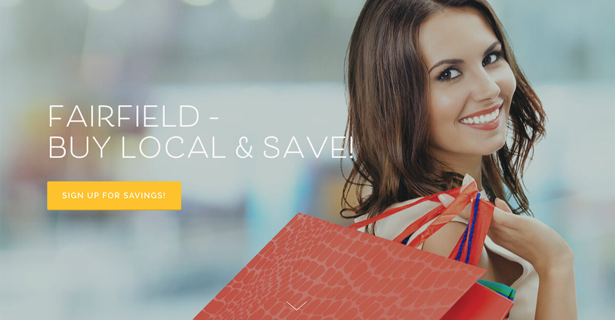 Town of Fairfield CT Enlists Designsite to Design New 'Buy Local' Website