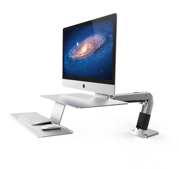 WorkFit-A, Sit-Stand Workstation