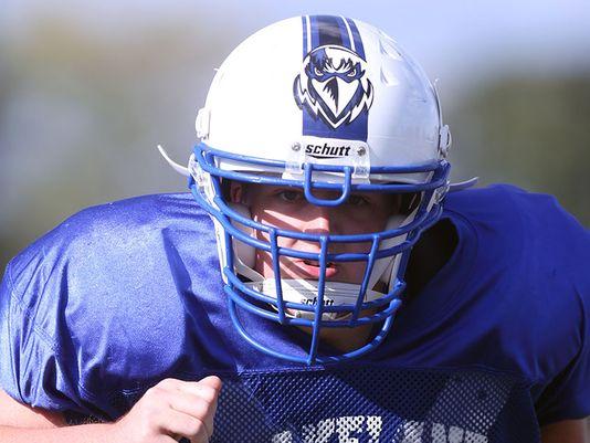 Lakeland offensive lineman Josh Bailey   (Photo: Kirthmon F. Dozier Detroit Free Press)