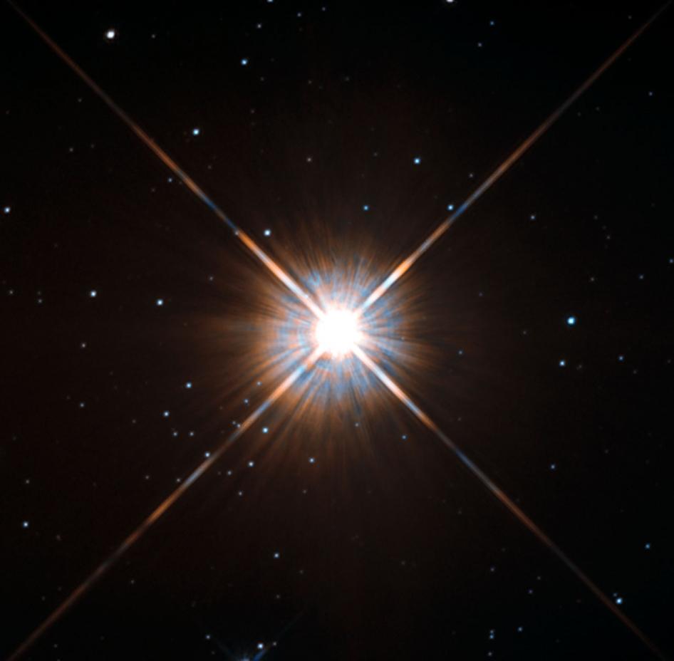 Proxima Centauri imaged by Hubble (photo from NASA)