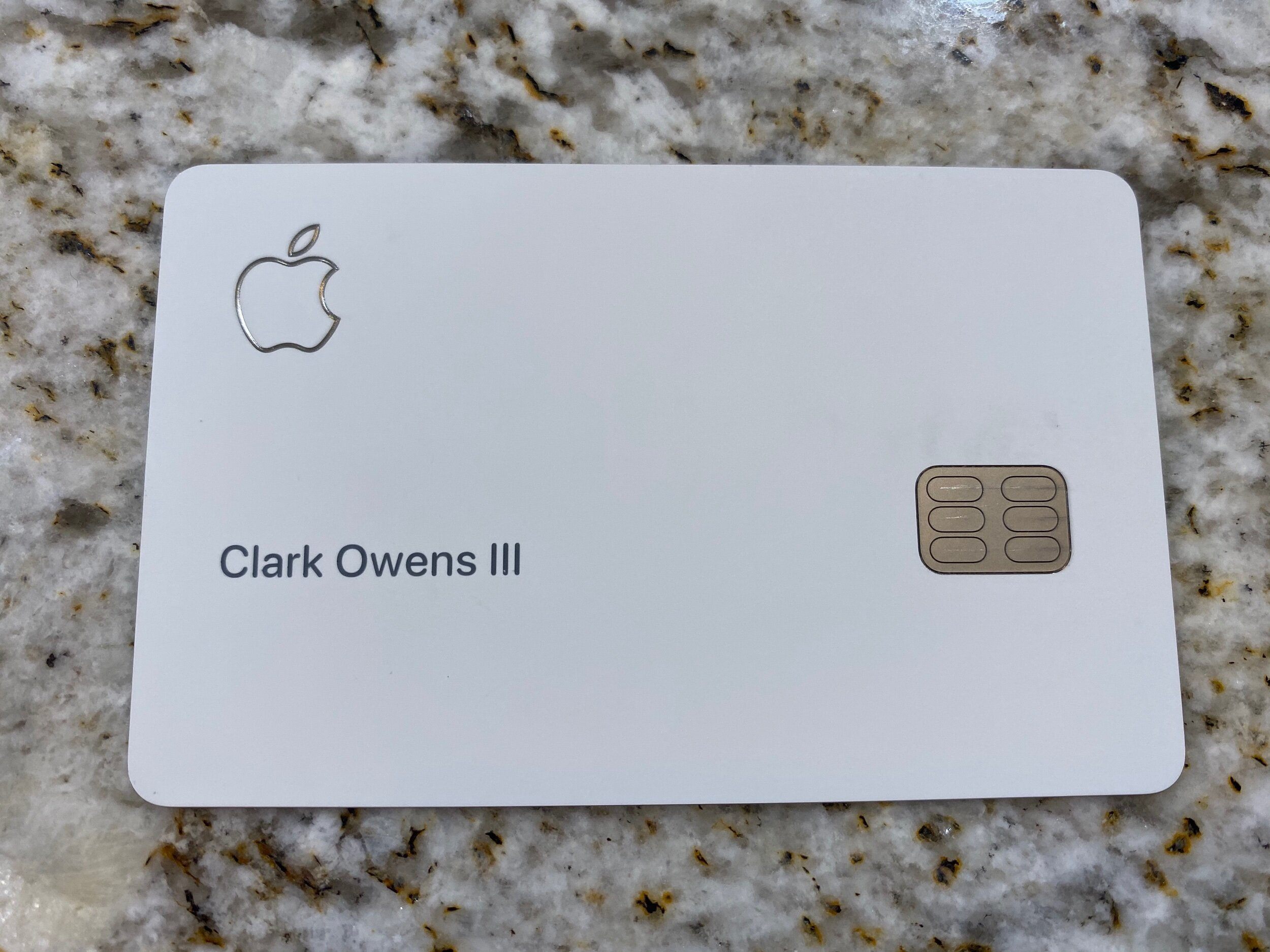 Bet you don't want to take a photo of your regular credit card and post online do you?