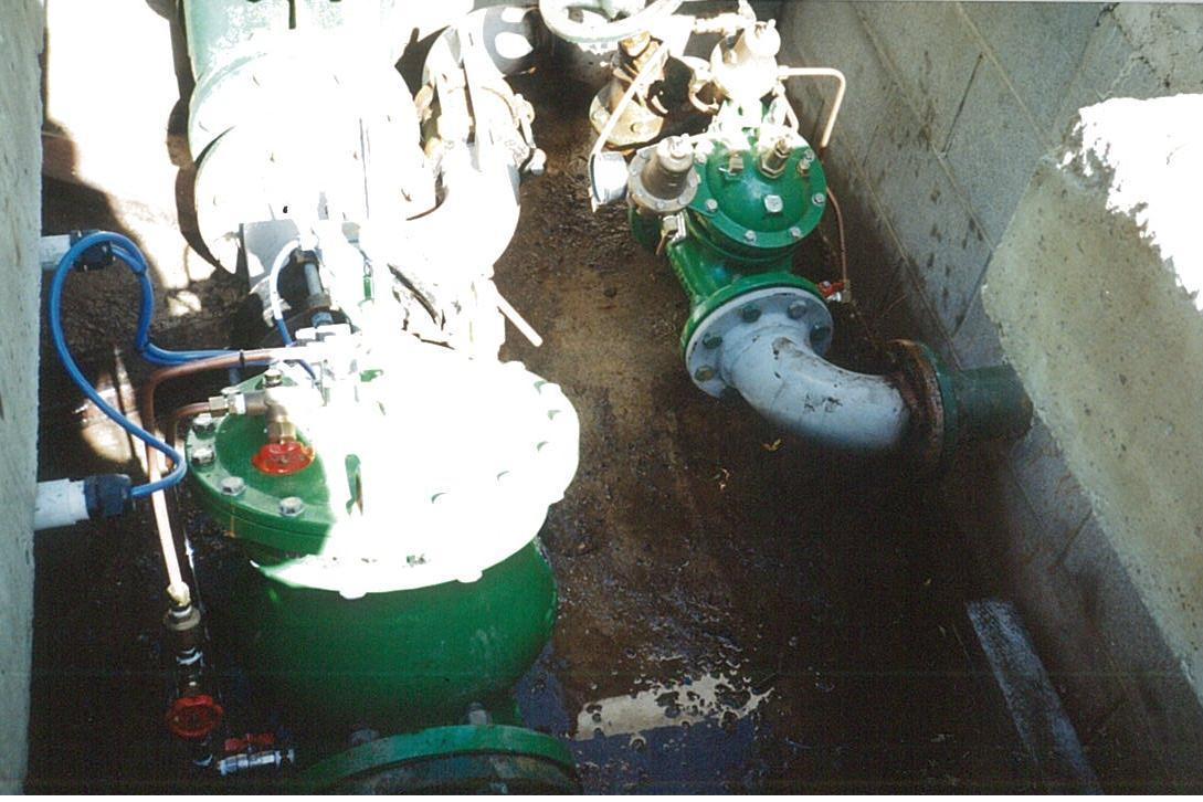 SEPTEMBER 1996 - Queenstown Lakes district council - pump control valve & surge anticipating valve