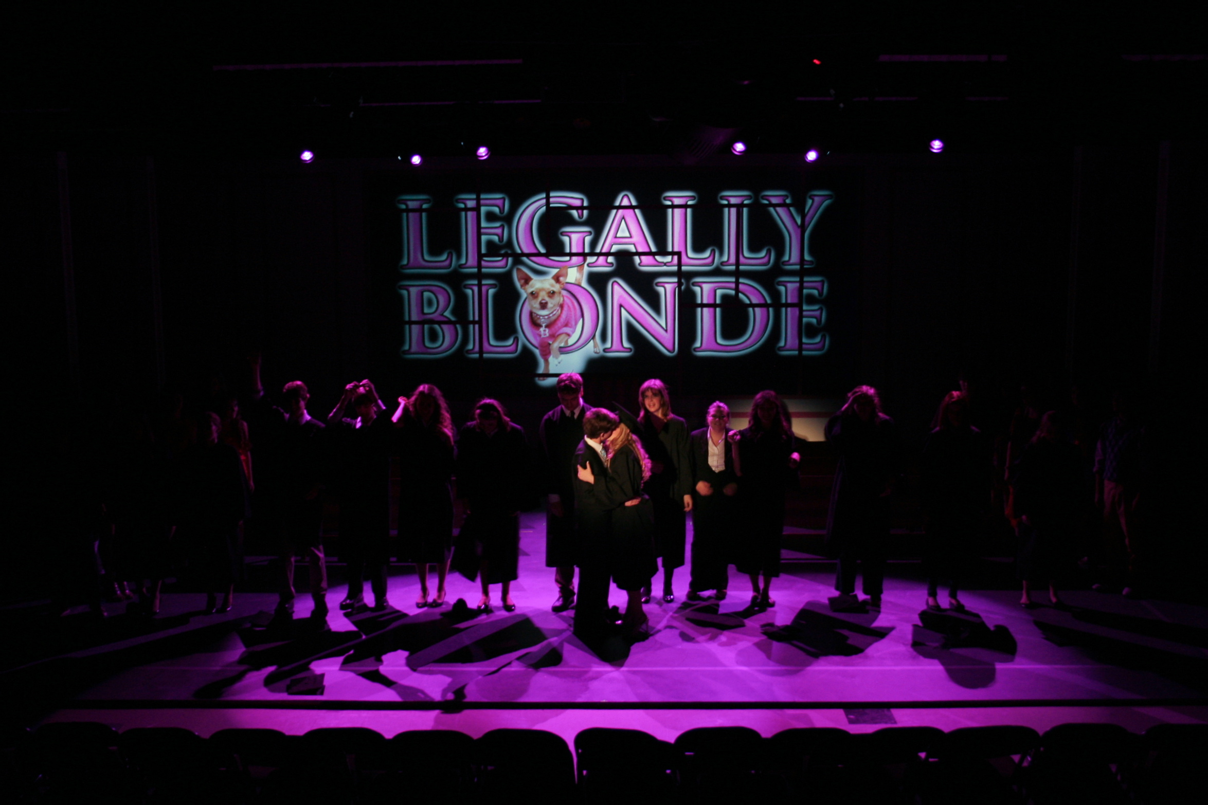 Final look, Legally Blonde