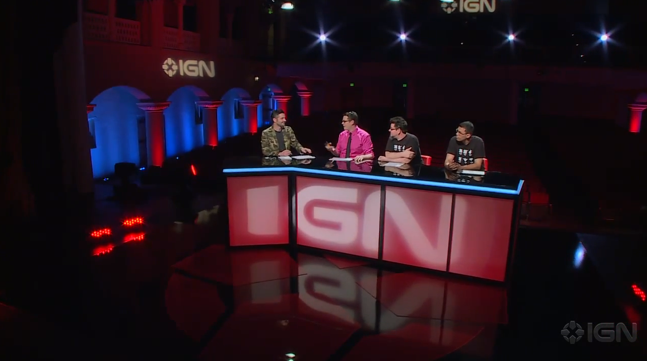 IGN E3 Live Conference Shoot