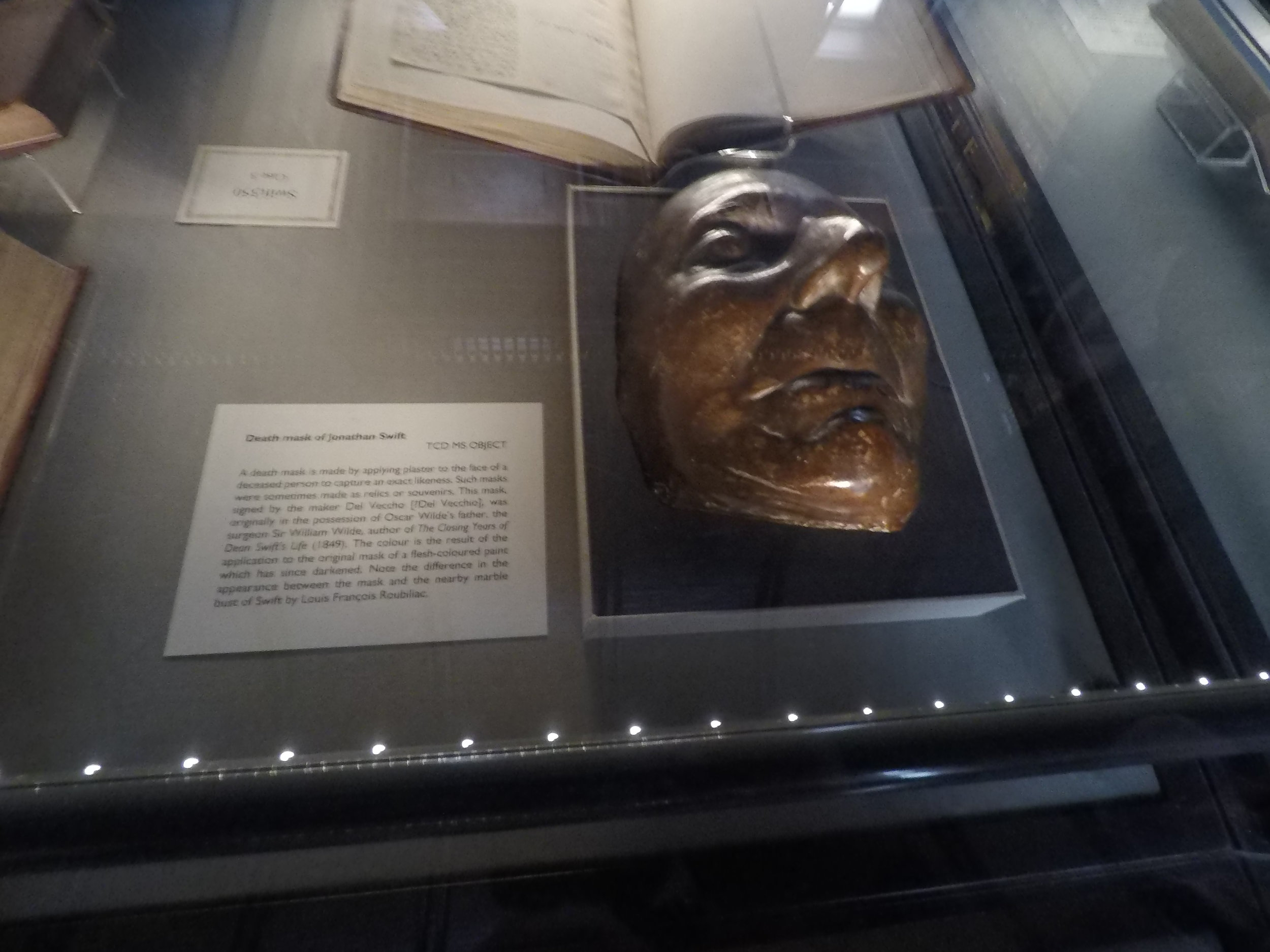 Jonathan Swift's death mask