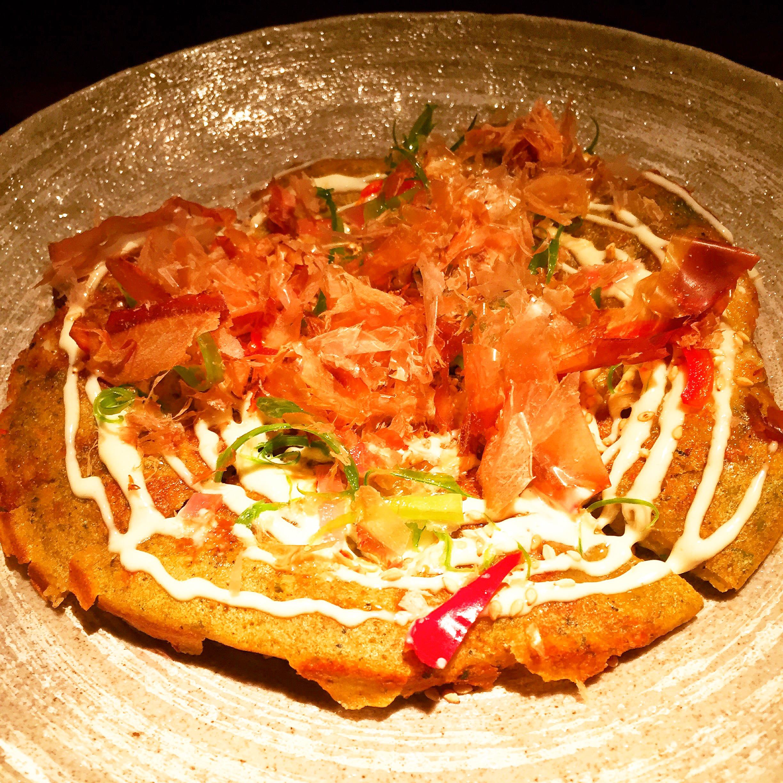 Seafood Pancake