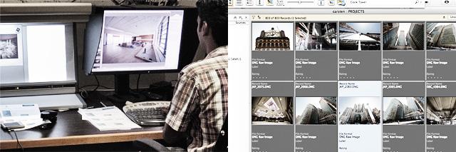 Implementation Of Professional Image Processing & Digital Asset Management
