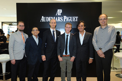 Audemars Piguet Student Competition  - Winner, Sponsors and Judge Carsten