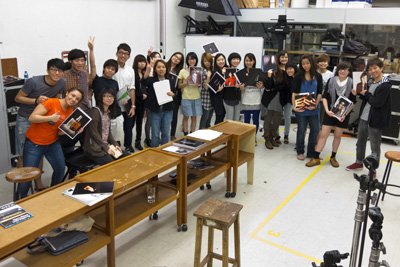 HK Polytechnic University  - 2011 Art Direction Course Students
