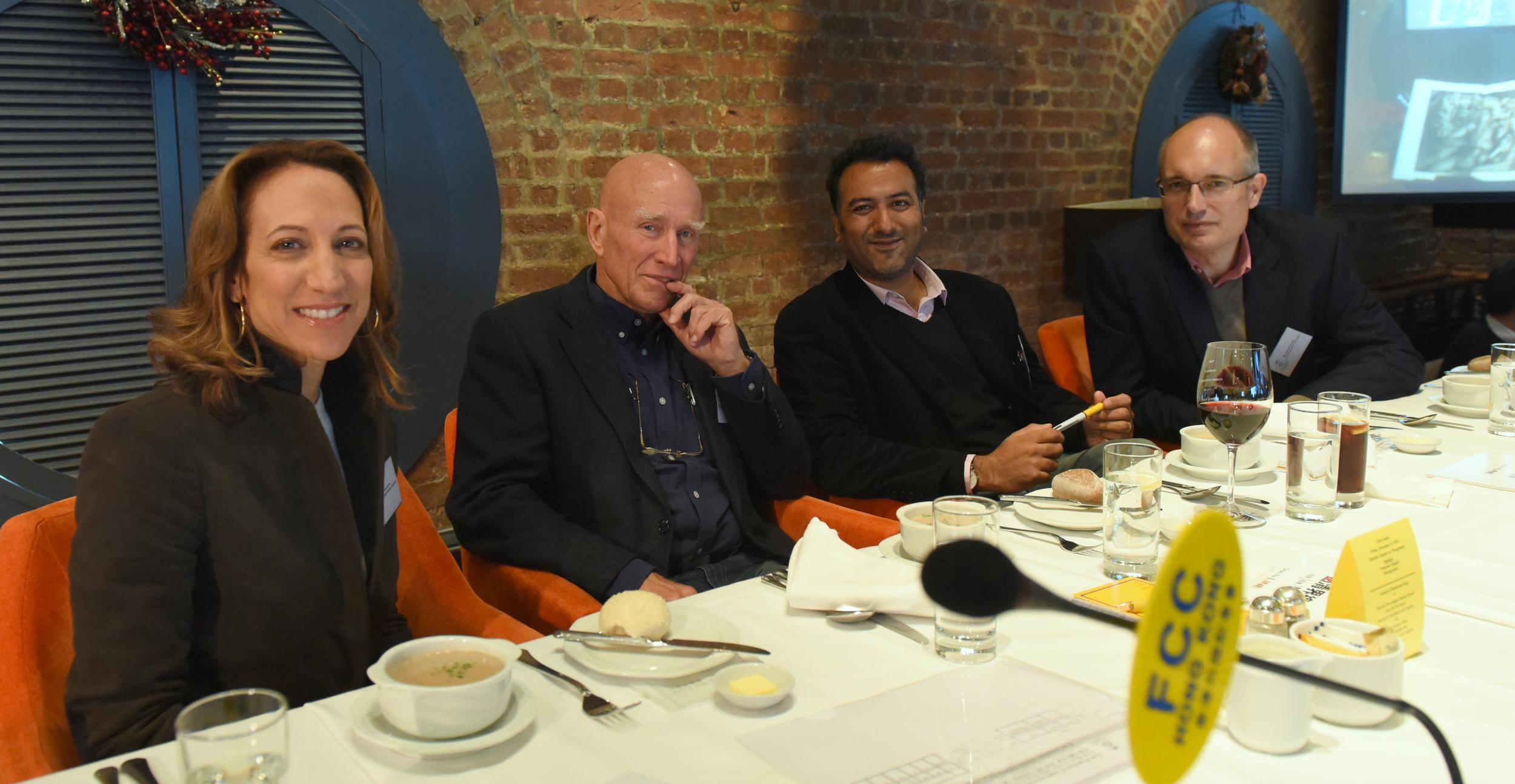 Tara Joseph,    Sebastião  Salgado  , Jitendra Joshi, Carsten Schael ( photo by Ali Ghorbani)