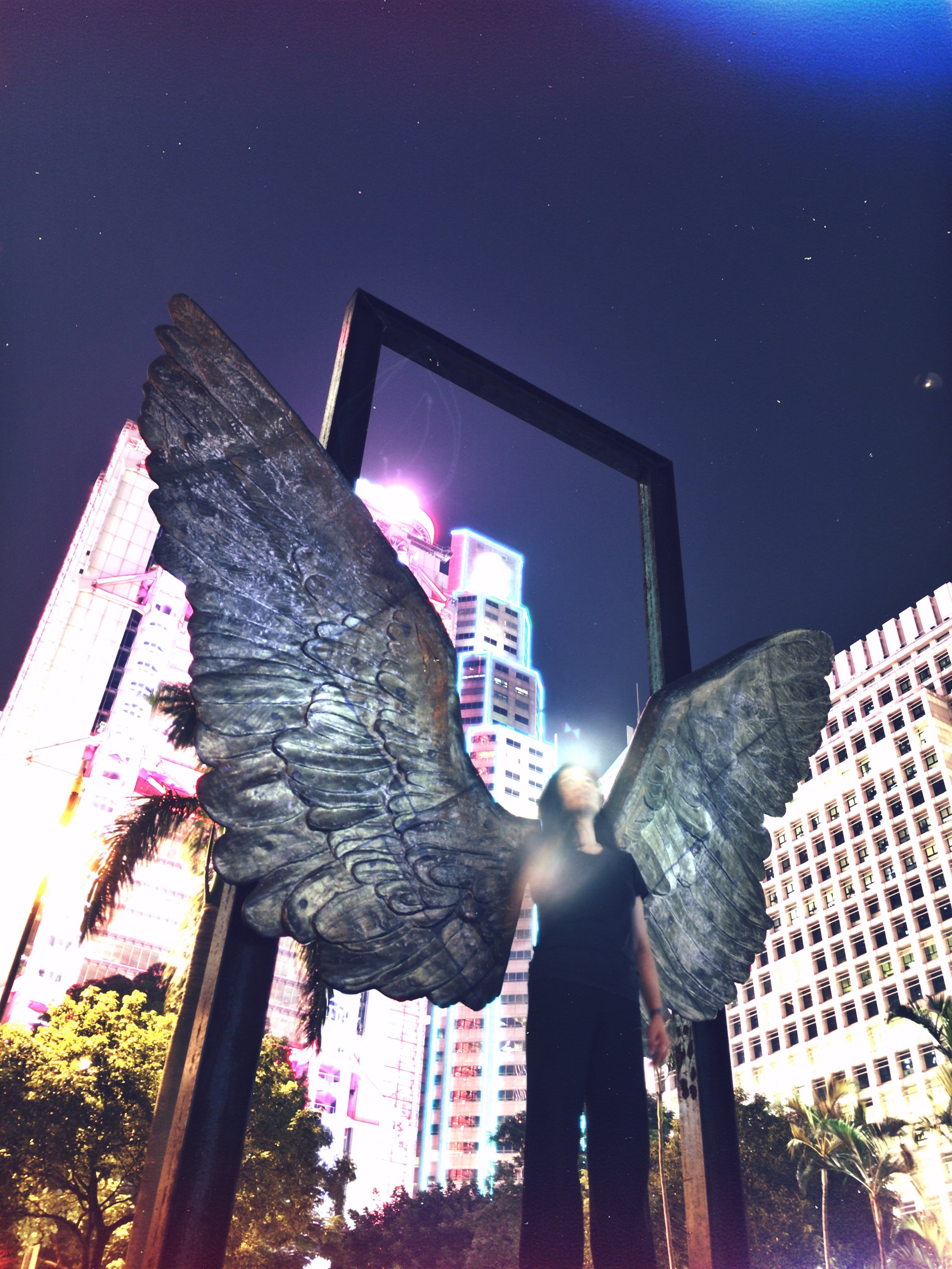 An Angel in Central