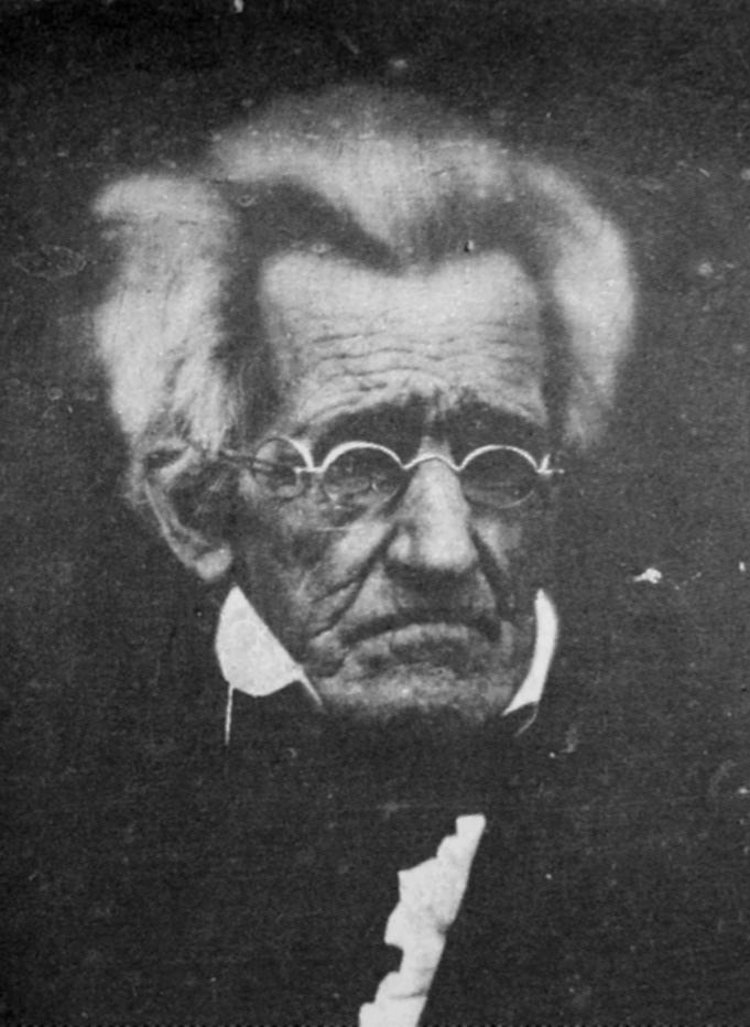 """""""I killed the bank."""" - Andrew Jackson (Photo: Wikimedia Commons)"""