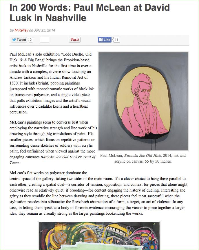 "Screengrab of  Burnaway mini-review  for ""Code Duello, Old Hick & a Big Bang"""
