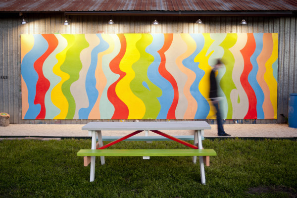 "Eric Timothy Carlson's ""Waves of Joy"" at Co-Lab"