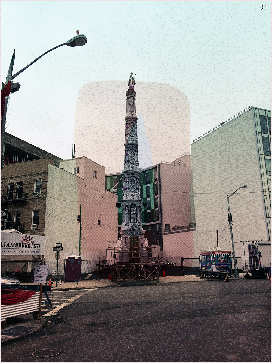 Giglio in the Morning, Williamsburg, BK (2014)