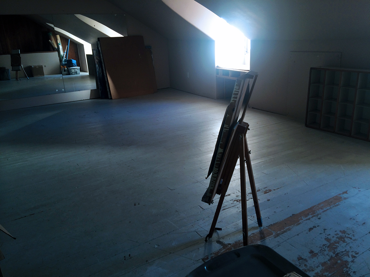 Pre-storage-dump attic. (PJM)