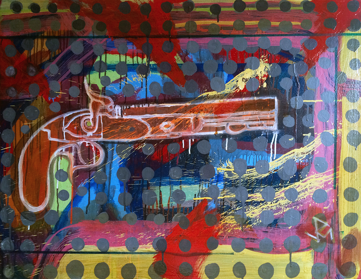 """""""Andrew Jackson's Dueling Pistol"""" (circa 2014)"""
