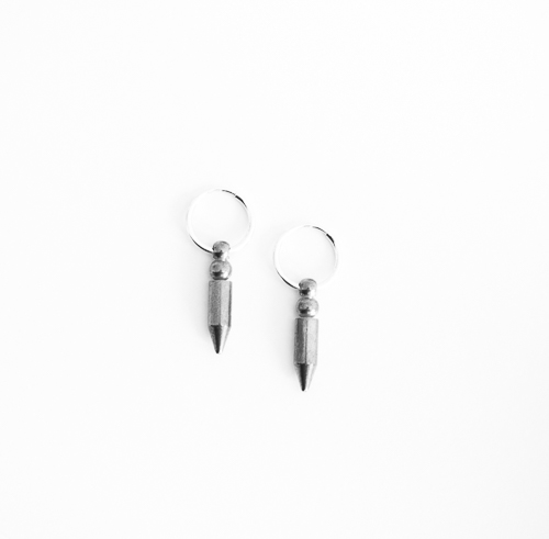 DIY Arrowhead Earrings