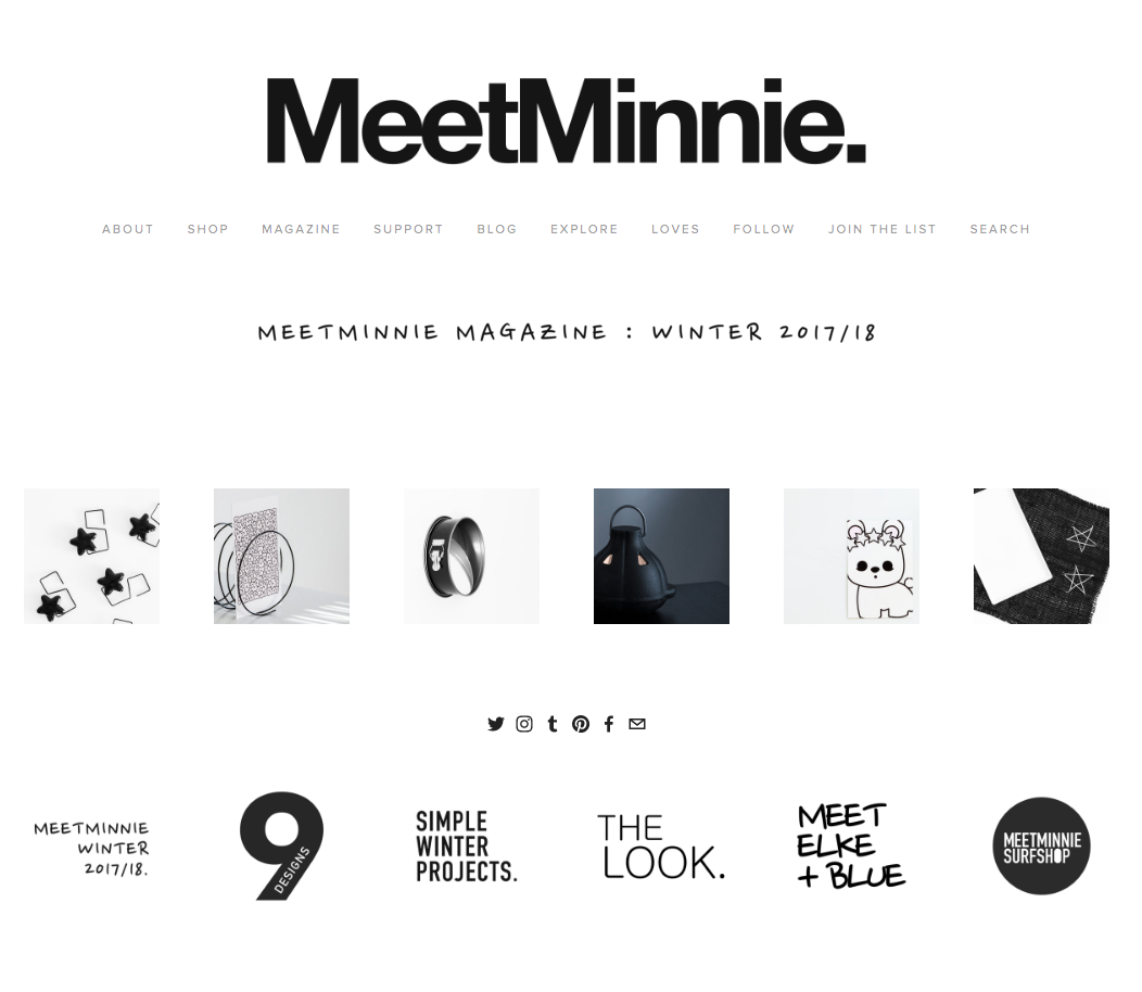 The   Winter 2017/18   issue of MeetMinnie magazine is now online. Here are a few notes on what's inside and what's changed at   MeetMinnie   since our previous issue. Thank you for reading! (Reprinted from the   Winter 2017/18   issue of MeetMinnie magazine.)