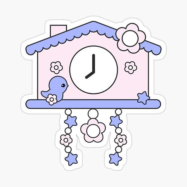 Cute cuckoo clock sticker featuring art from one of our newest books, A Very Cute Day with Esme. Sticker from our Elke + Blue collection at Redbubble. See link in bio for more info. #Redbubble #sticker #stickers #clock #alarmclock #cuckoo #cuckooclock #pink #blue #pastel #love #cute #kawaii #bird #birds #birdsofinstagram #bluebird #flower #flowers #daisy #daisies #elkeandblue #time #home #house #chalet #style #dorm #collection #art