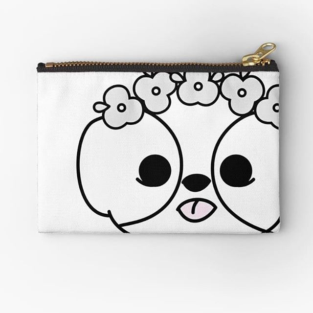 Sweet shih tzu  puppy pouch from our Elke + Blue collection at Redbubble. See link in bio for more info. #Redbubble #pouch #bag #bags #fashion #accessories #fun #cute #happy #love #petsofinstagram #dogsofinstagram #shihtzu #puppy #dog #elkeandblue #shihtzusofinstagram #flower #flowers #flower #flowercrown #festival #spring #kawaii #character #illustration #puppies #puppiesofinstagram #crown #minimalist