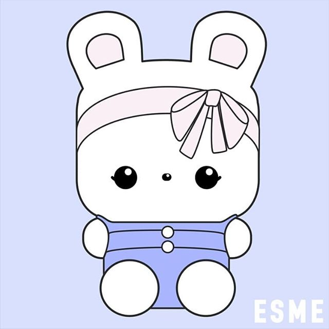 Have you met Esme yet? Follow her adventures @elkeandbluebunny and check out our link in bio for more info on our new book and coloring book all about her! #plushie #plushies #plushiesofinstagram #kawaii #bunny #rabbit #cute #happy #pink #blue #pastel #illustration #drawing #selfie #ootd #rabbits #bunnies #bunniesofinstagram #elkeandbluebunny #fashion #style #love #book #books #bookstagram #bunnystagram #rabbitstagram #bunnylove #art #artwork