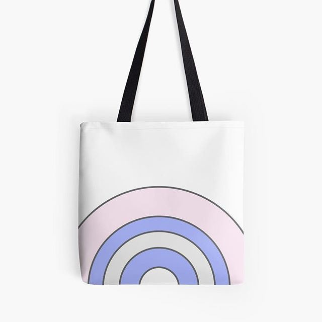Pastel rainbow tote from our Elke + Blue collection at Redbubble. See link in bio for more info. #Redbubble #tote #bag #totebag #fashion #style #accessories #spring #wardrobe #love #happy #fun #pink #blue #pastel #travel #storage #rainbow #rainbows #elkeandblue #illustration #art #artwork #graphicdesign #design #school #beach #bookbag #beachbag #springbreak