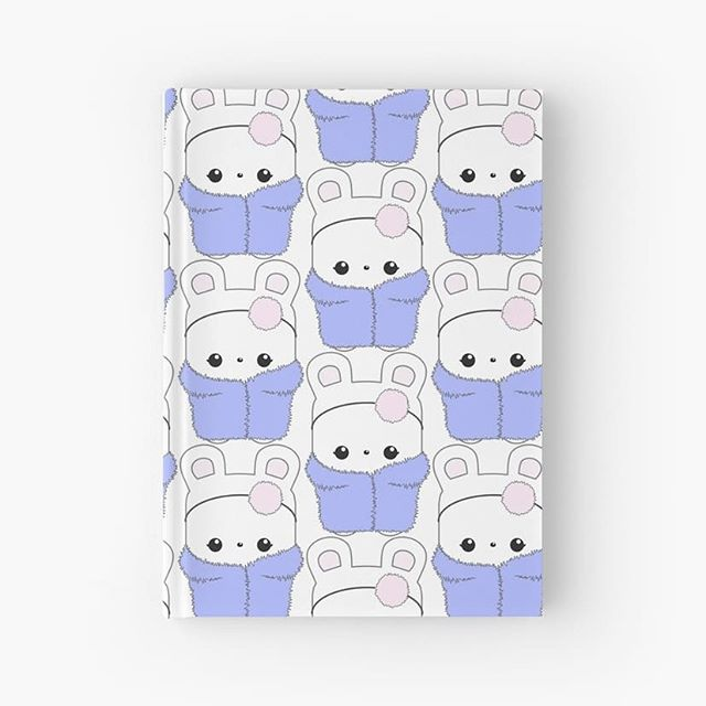 Esme mascot (in blue fluffy coat!) journal from our Elke + Blue collection at Redbubble. See link in bio for more info. #Redbubble #selfie #journal #notebook #stationery #office #paper #diary #ootd #kawaii #bunny #rabbit #cute #happy #pink #blue #pastel #character #rabbits #bunnies #bunniesofinstagram #elkeandbluebunny #elkeandblue #art #artwork #illustration #love #fun #fashion #style